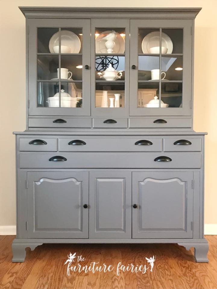 Buffet in Driftwood  Queenstown Gray Milk Paint  General