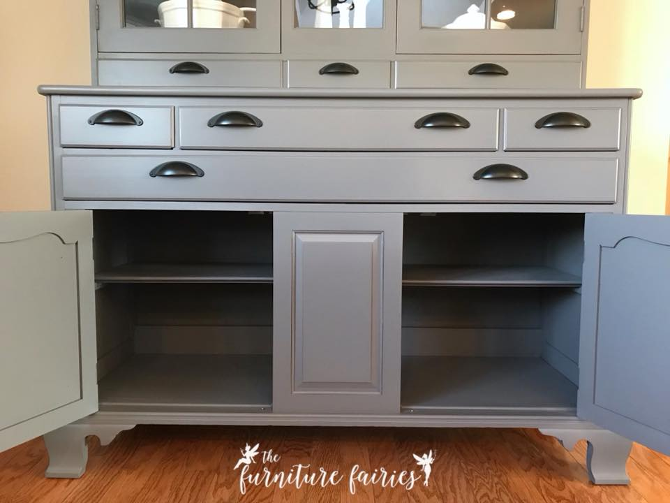 Buffet In Driftwood Amp Queenstown Gray Milk Paint General