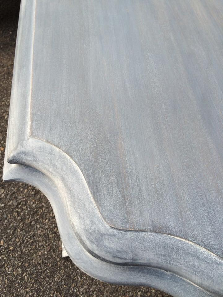 Table in Gray Gel Stain  General Finishes Design Center
