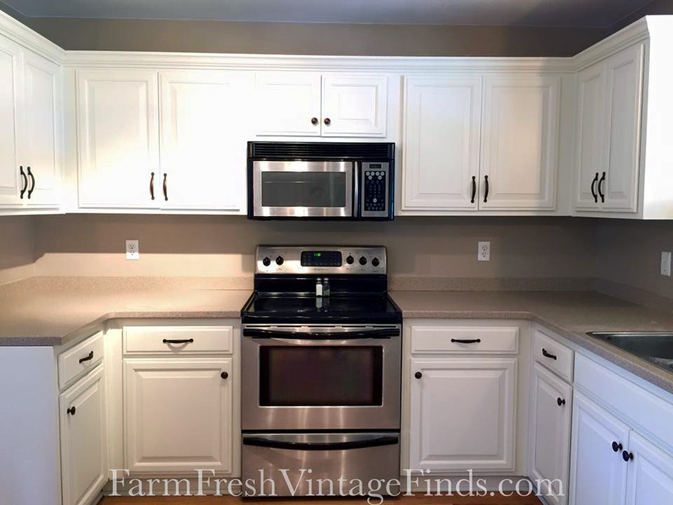 scd white kitchen upcycle erin 20160605 farm fresh vintage finds cabinets linen milk paint general finishes General Finishes Milk Paint Kitchen Cabinets
