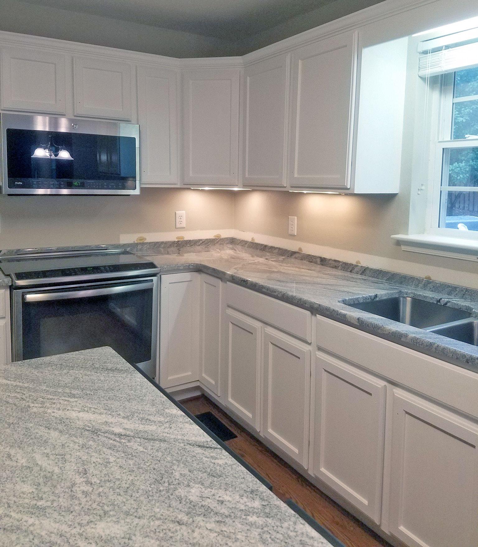 Snow White Kitchen Cabinet transformation  General