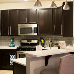 Staining Kitchen Cabinets Darker Bright Light Fixtures Java Gel Stain Transformation | General Finishes ...