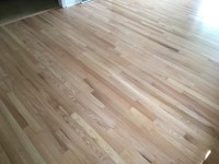 Red Oak Floors Refinished with Pro Image Satin | General ...