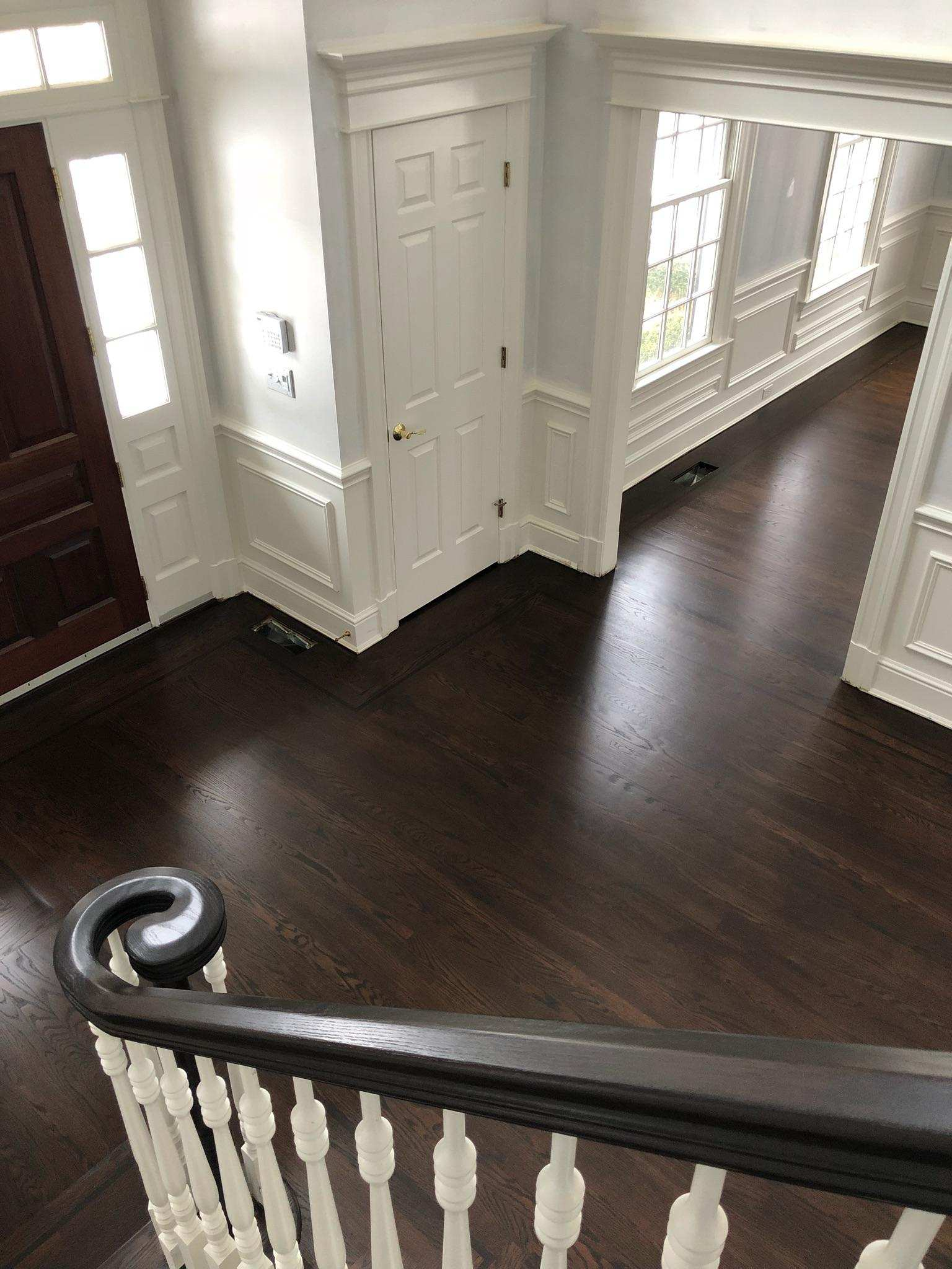 Stunning Floor Makeover with Tobacco and Cocbolo  General