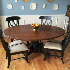 Heavy Duty Kitchen Chairs Sears Suites Table And In Java + Antique Walnut Gel Stain ...