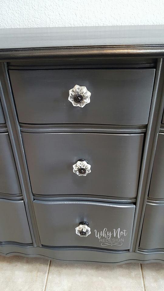 Dresser in Queenstown Gray  Black Pepper Color Mix