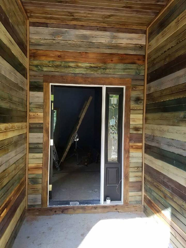 Entranceway Remodeling in Water Based Dye Stains  General Finishes Design Center