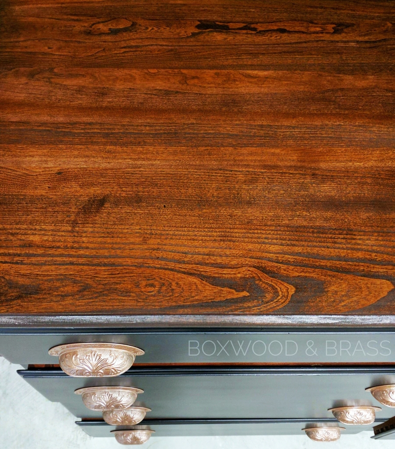 Cherry Wood Stained With Java Gel Stain General Finishes Design Center