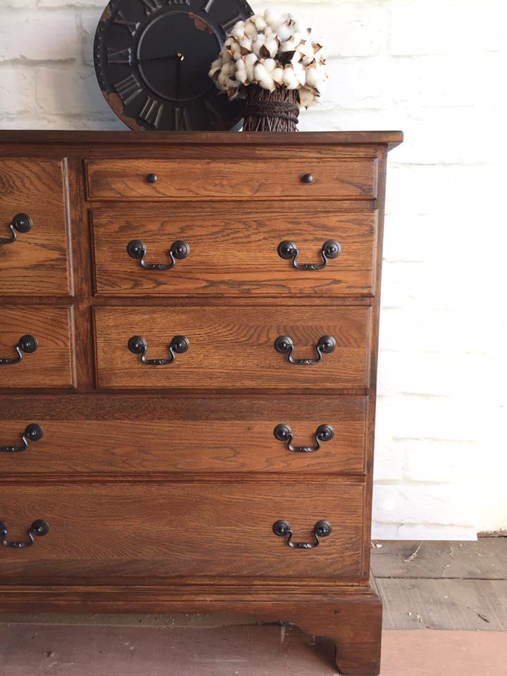 Antique Walnut Gel Stain Dresser  General Finishes Design Center