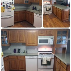 Turquoise Kitchen Appliances Furniture Storage Seagull Gray And Driftwood Cabinets | General ...