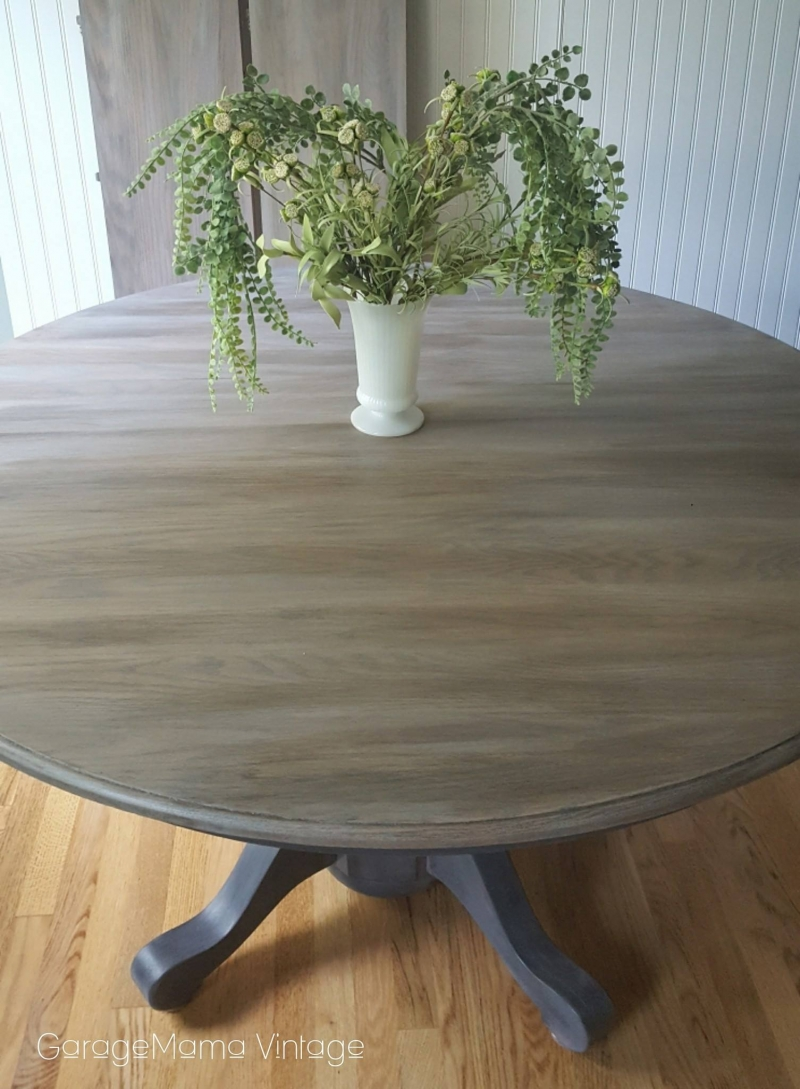 Masterful Table Layered In Stain Amp Paint General