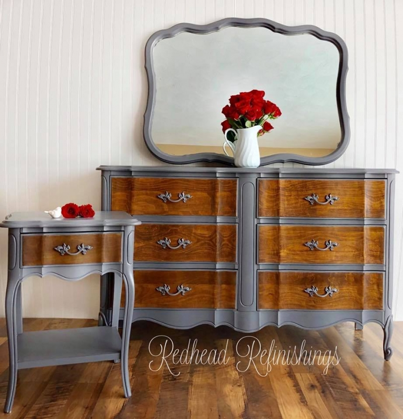 kitchen refinishing ideas looking for used cabinets french provincial nightstand & dresser set in driftwood ...