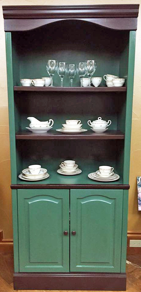 Custom Green Hutch General Finishes Design Center
