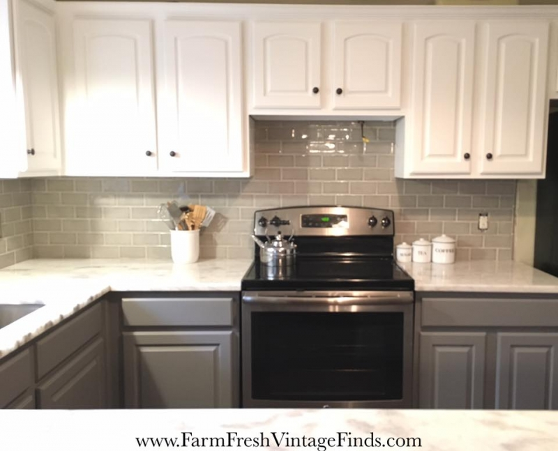 colors to paint kitchen cabinets cheap backsplash tile upcycle in snow white & driftwood | general ...