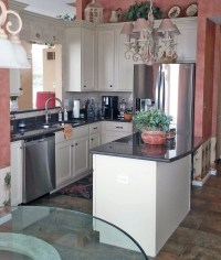 Linen Kitchen Cabinets