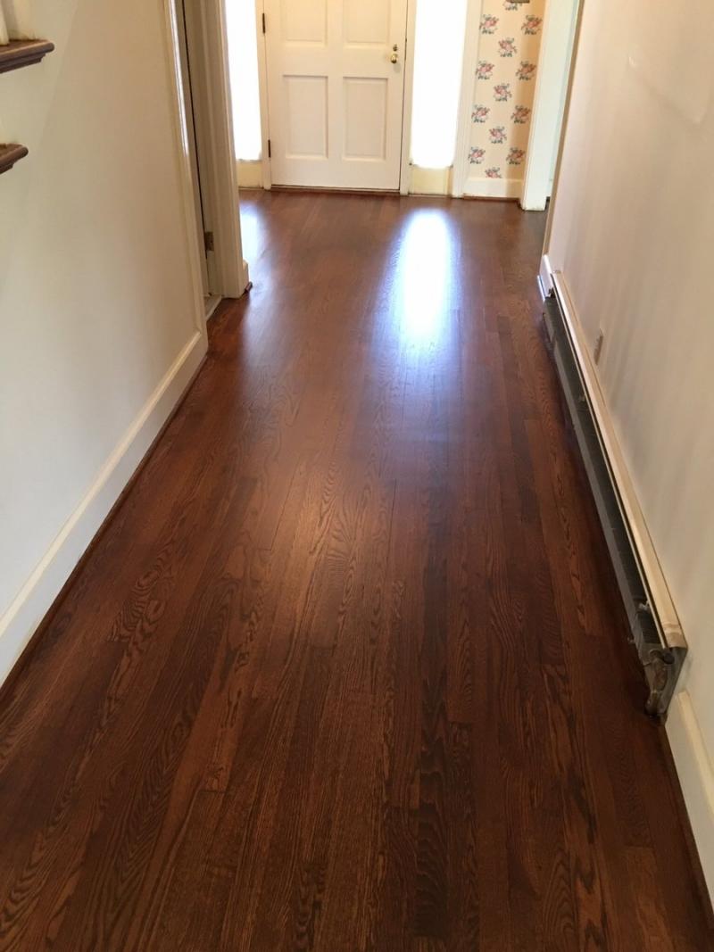 White Oak Floors in Antique Brown Pro Floor Stain  Pro