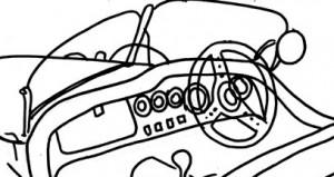 Car Dashboard Engine Temperature Gauge Auto Temperature