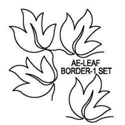 Leaf Border Design 1