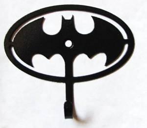 metal batman wall hooks, batman sign