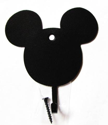 metal mouse head wall hooks, mickey mouse wall art