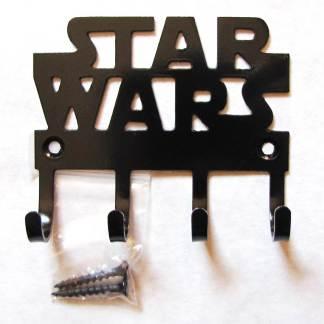 metal star wars wall hooks, star wars sign