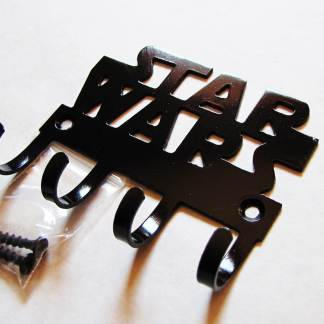 metal star wars wall hooks, star wars sign