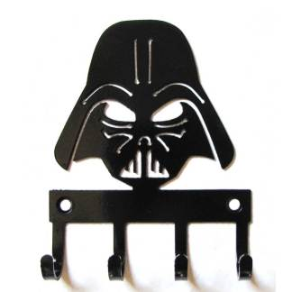 metal darth vader wall hooks, star wars sign