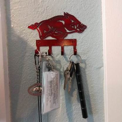 metal wall hooks examples