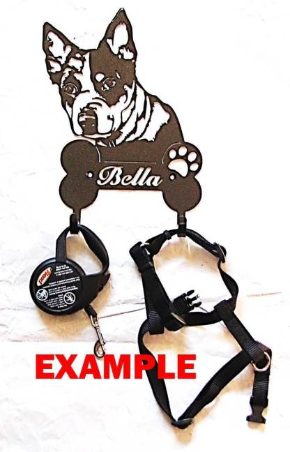 metal leash hooks example