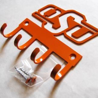 metal osu logo wall hooks key hooks
