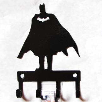 metal batman standing wall hooks