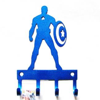 Captain America Standing Wall Hooks