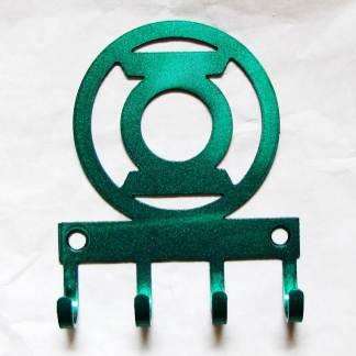 metal green lantern wall hooks