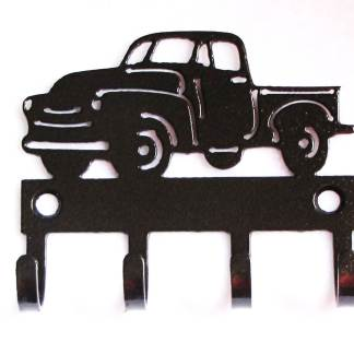 metal antique pickup truck wall hooks