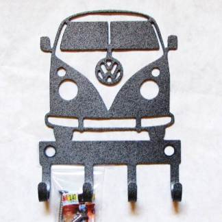 metal vw bus wall hooks
