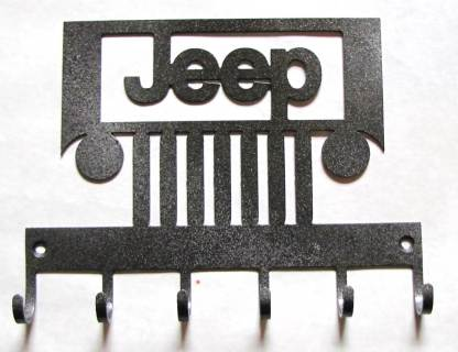 metal jeep wall hooks, jeep sign