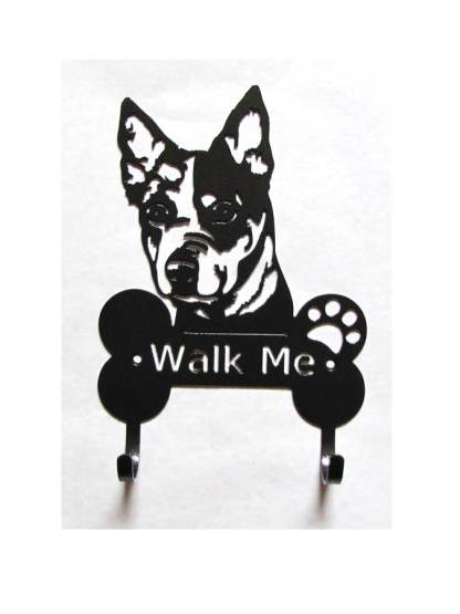 blue heeler metal leash hooks metal leash holder
