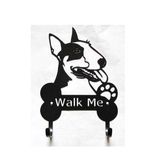 bullnose terrier metal leash hooks
