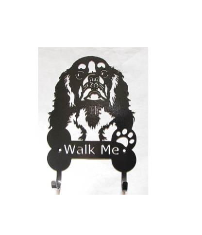 cavalier king charles spaniel metal leash hooks leash holder
