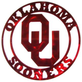 ou sign, university of oklahoma sign