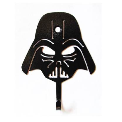 star wars darth vader metal wall hook