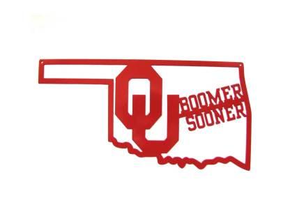 ou boomer soooner wall sign