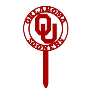 ou sign, university of oklahoma yard sign