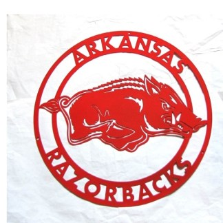 university of arkansas razorback sign