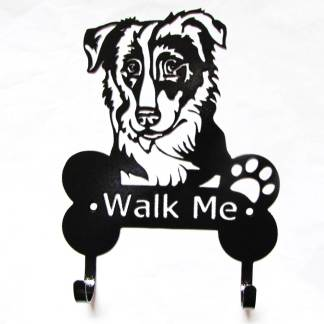 sheltie metal leash hooks, leash holder