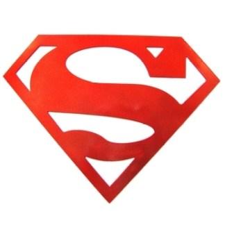 Superman Logo Decor