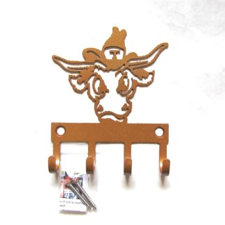 University of Texas Metal BEVO Wall Hooks