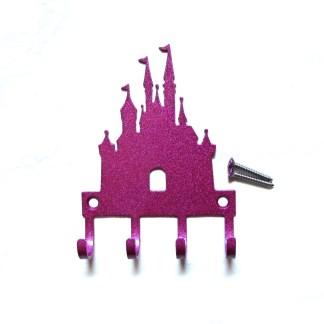 CUSTOM Princess Castle Wall Hooks Razzle