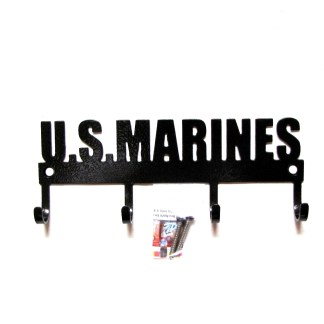 united states marines metal wall hooks