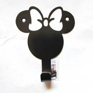metal minnie mouse wall hook, minnie mouse wall art